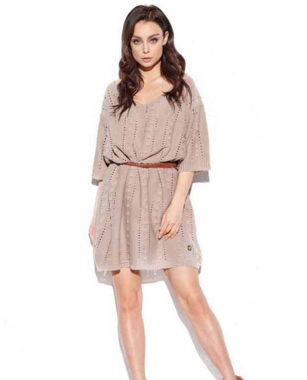des robes  tricot tendance 2021 2022