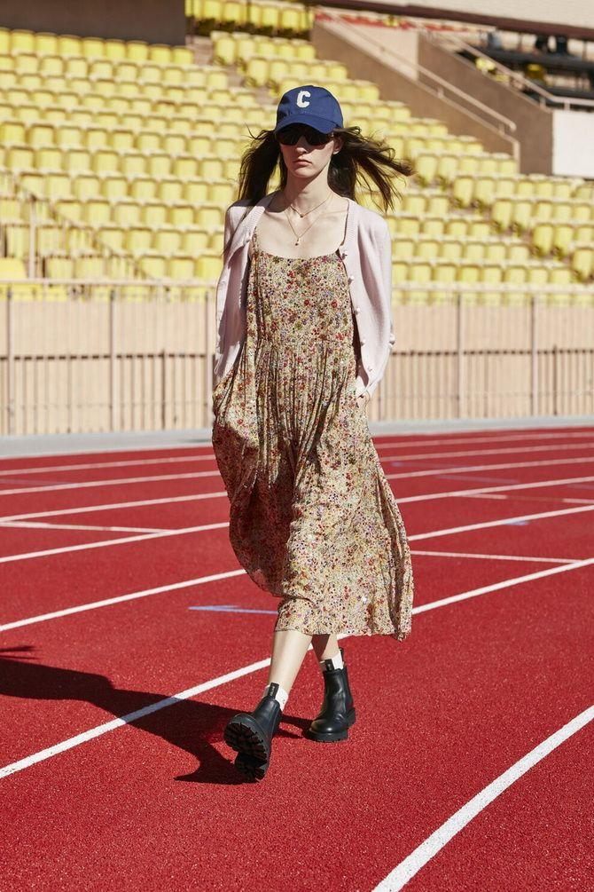 Robes à imprimé floral à la mode pour le printemps 2021 2