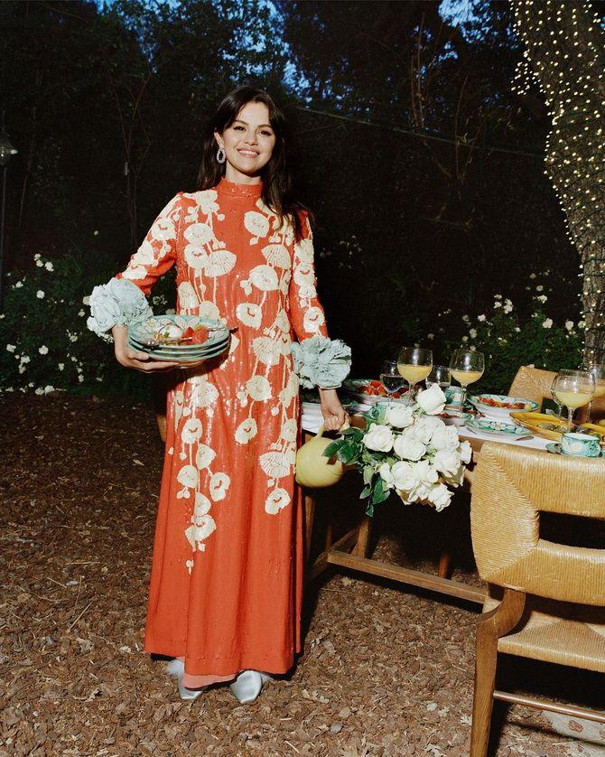 Robes à imprimé floral à la mode pour le printemps 2021 6