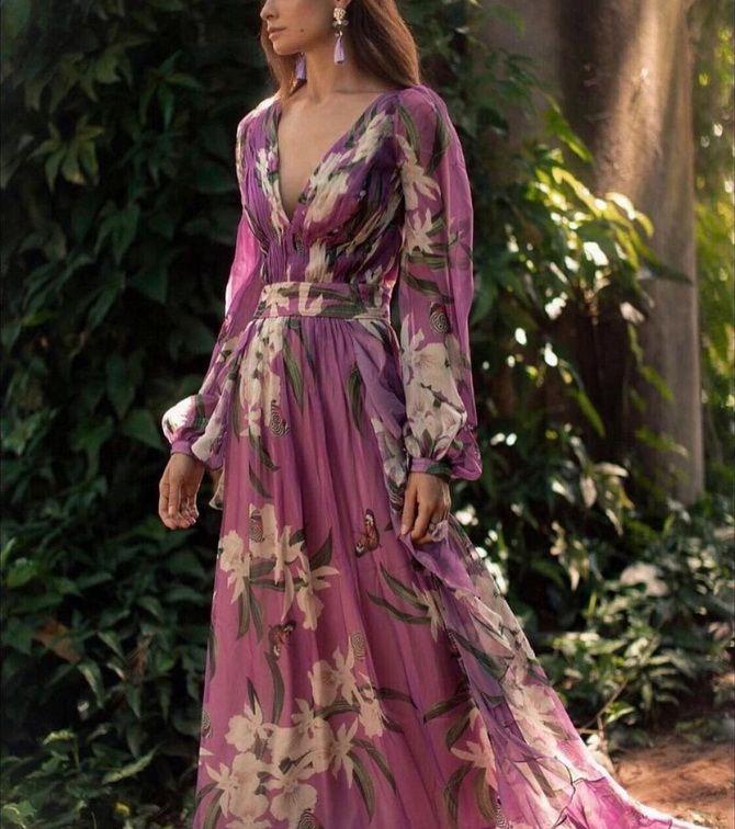 Robes à la mode avec imprimé floral pour le printemps 2021 7