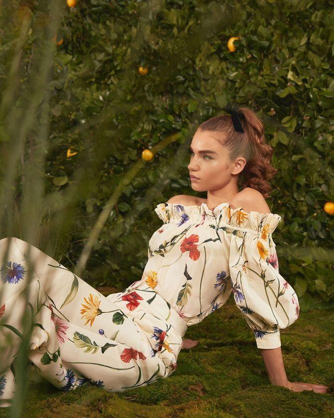 Robes à imprimé floral tendance pour le printemps 2021 8
