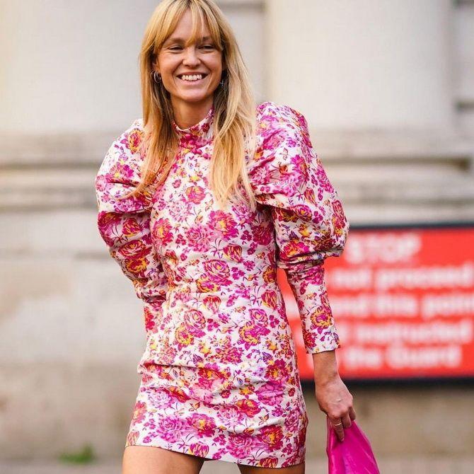 Robes à la mode avec imprimé floral pour le printemps 2021 9