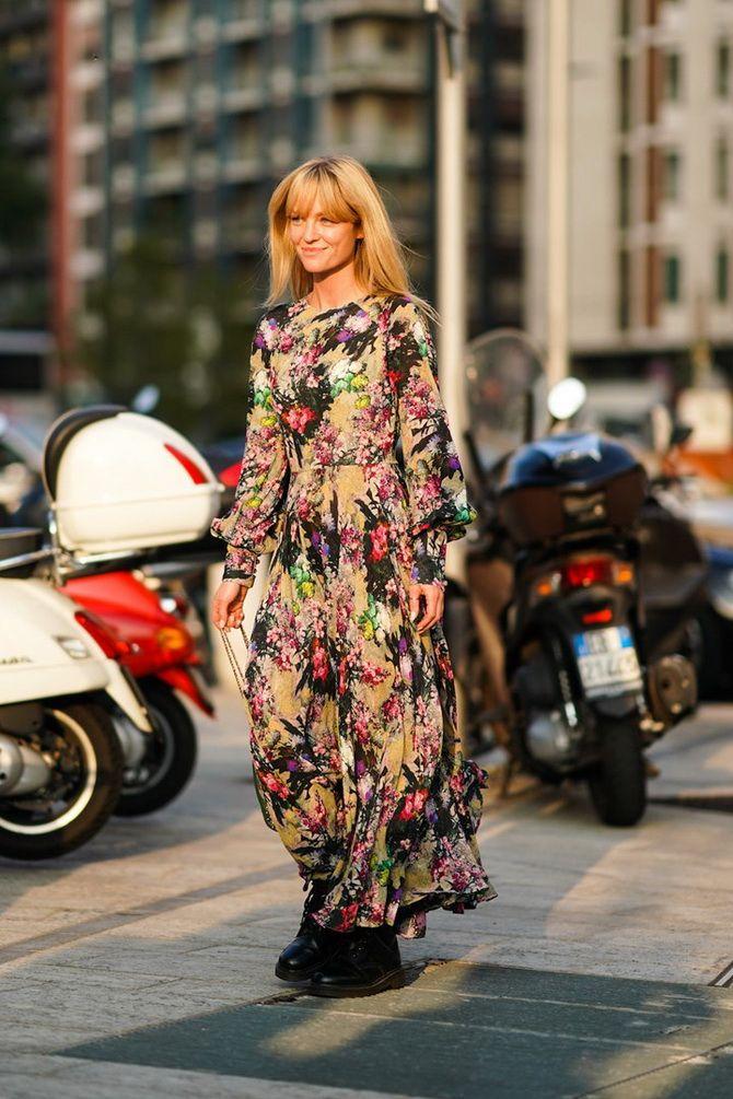 Robes à imprimé floral tendance pour le printemps 2021 20