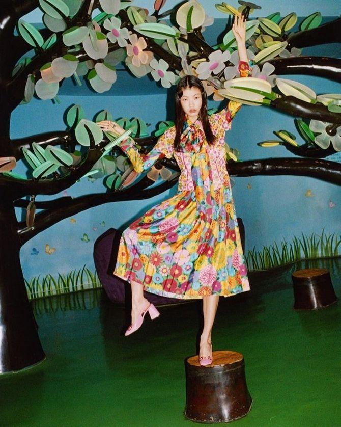 Robes tendance à imprimé floral pour le printemps 2021 23