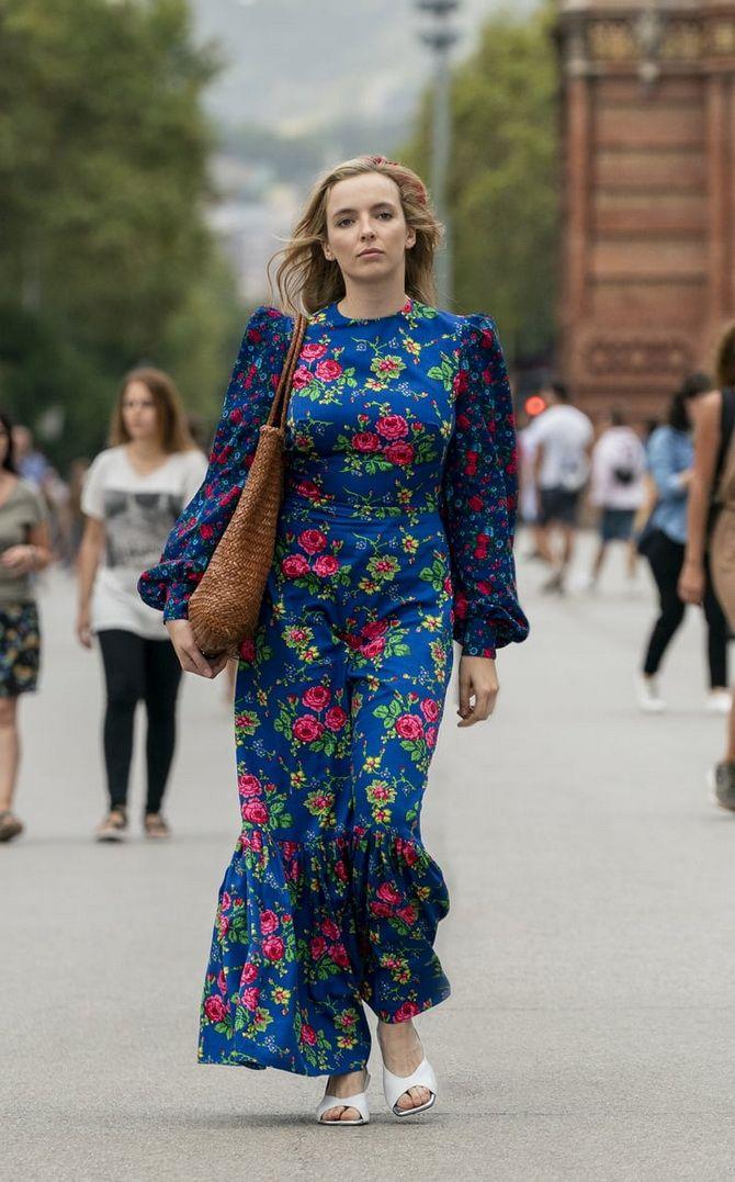 Robes tendance à imprimé floral pour le printemps 2021 17