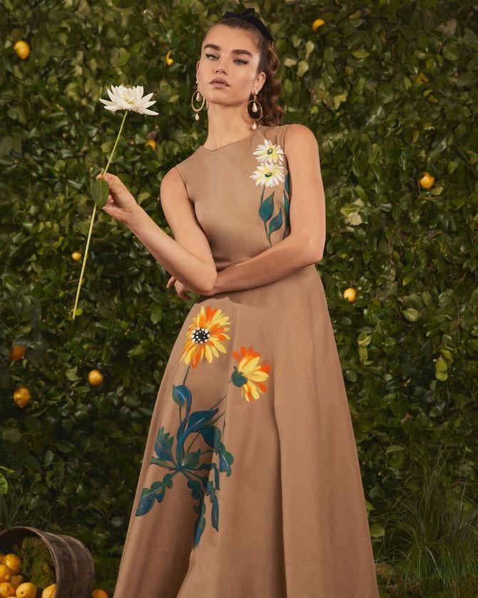 Robes à la mode avec imprimé floral pour le printemps 2021 5