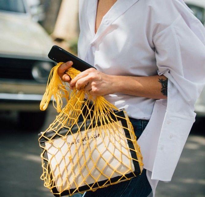 Sacs à provisions et paniers - les sacs les plus en vogue de l'été 2021 7