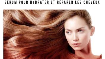 sérum capillaire Soin profond pour hydrater et réparer les cheveux
