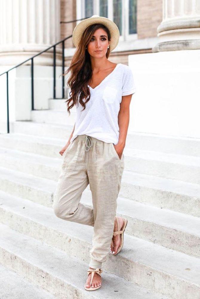 5 pantalons d'été pour ceux qui ne portent pas de short 10