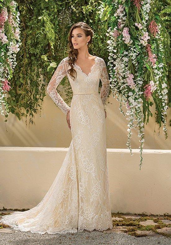photo de robes de mariée : couleur longue