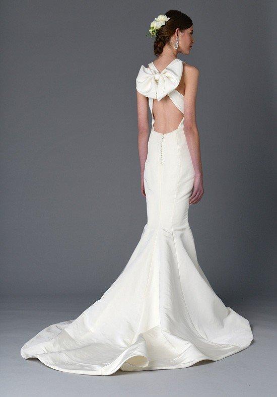 robe de mariée dos nu et déco