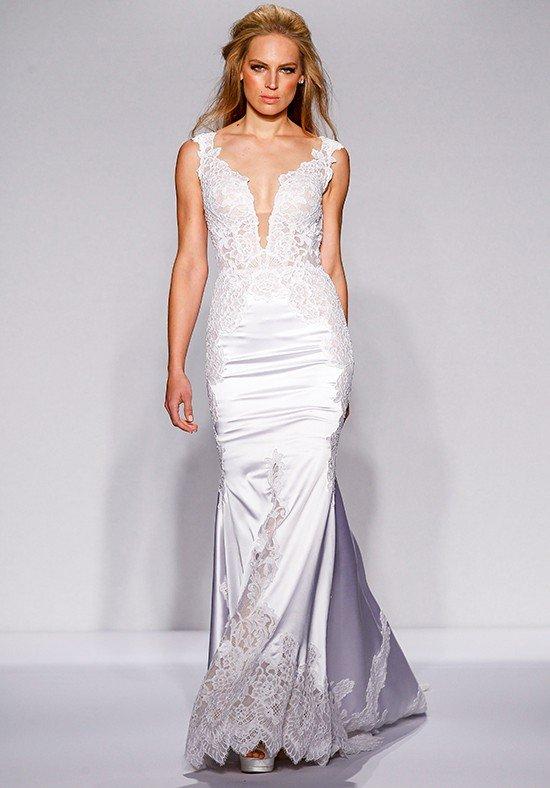 robe de mariée sirène en soie