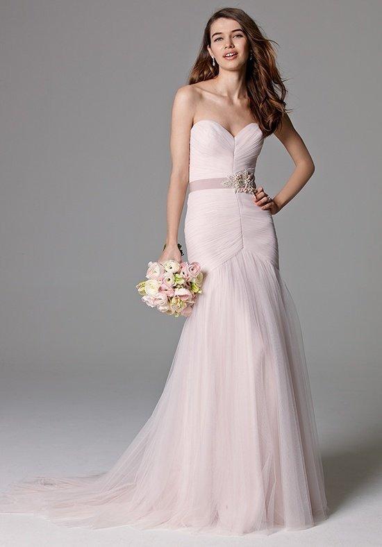 photo de robes de mariée : couleur rose