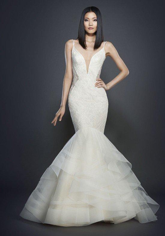 robe de mariée sirène à découpes