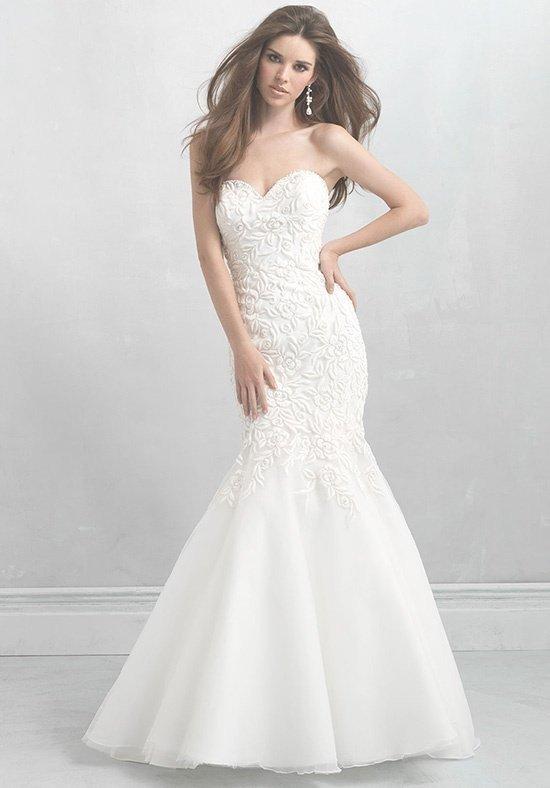 robe de mariée bustier sirène
