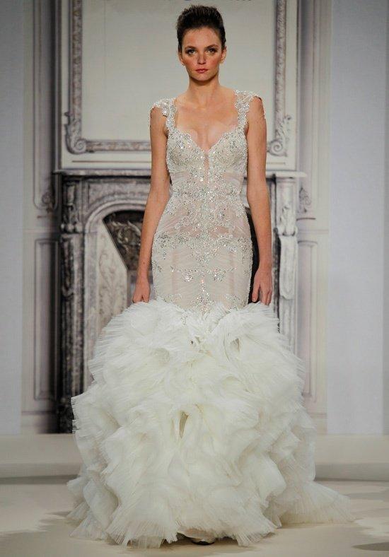 robe de mariée sirène ornée
