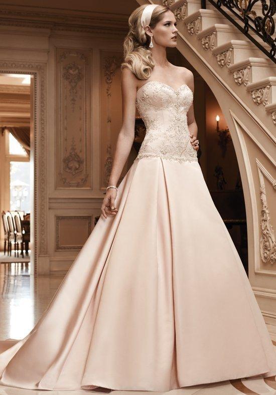 photo de robes de mariée : couleur beige