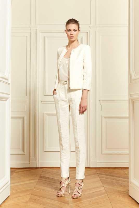 photo de robes de mariée : tailleur pantalon