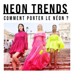 neon colors trends