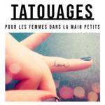 petit tatouages dans la main pour femmes
