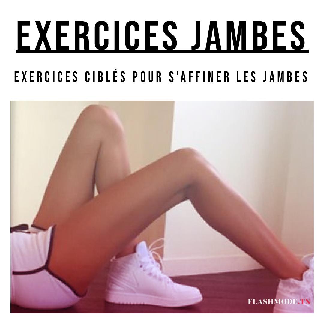 exercice maison pour jambes