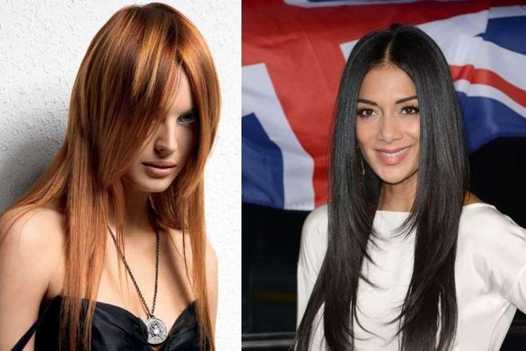 Mèches courtes - Coupes de cheveux pour femmes à la mode 2020 pour cheveux longs