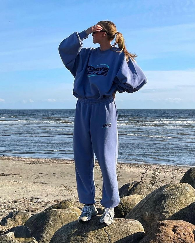 Survêtements femme - looks sport chic 5